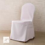 Pokrowiec na krzesło konferencyjne – biały